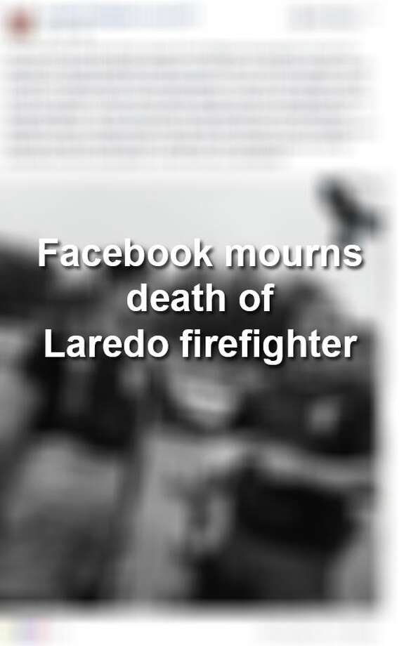 "Tributes poured in on Facebook this weekend following the death of Laredo firefighter Rolando ""Roli"" Solis who was killed in a motorcycle crash on Interstate 35. Photo: Facebook.com Screengrabs"