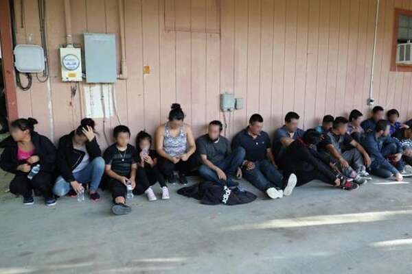 Eighteen undocumented immigrants were found living in a stash house on Thursday in south Laredo.