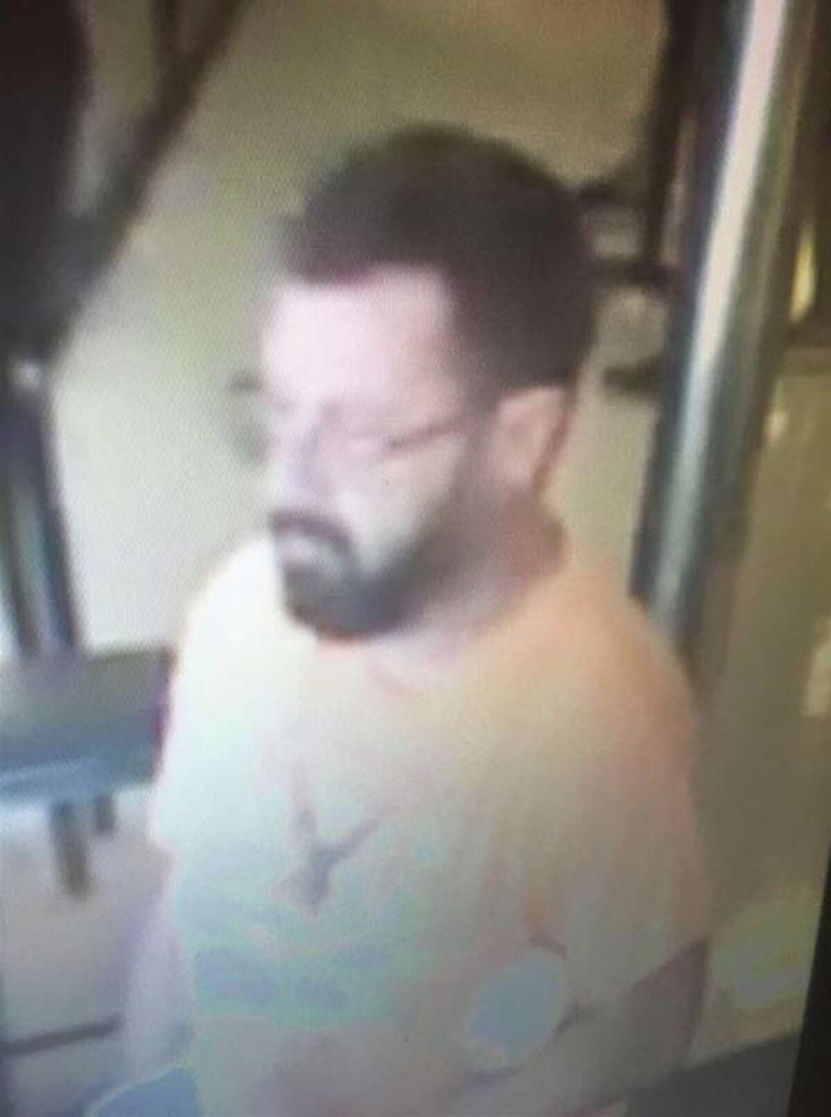 Laredo police said this man took a purse from a shopping cart at a local store.
