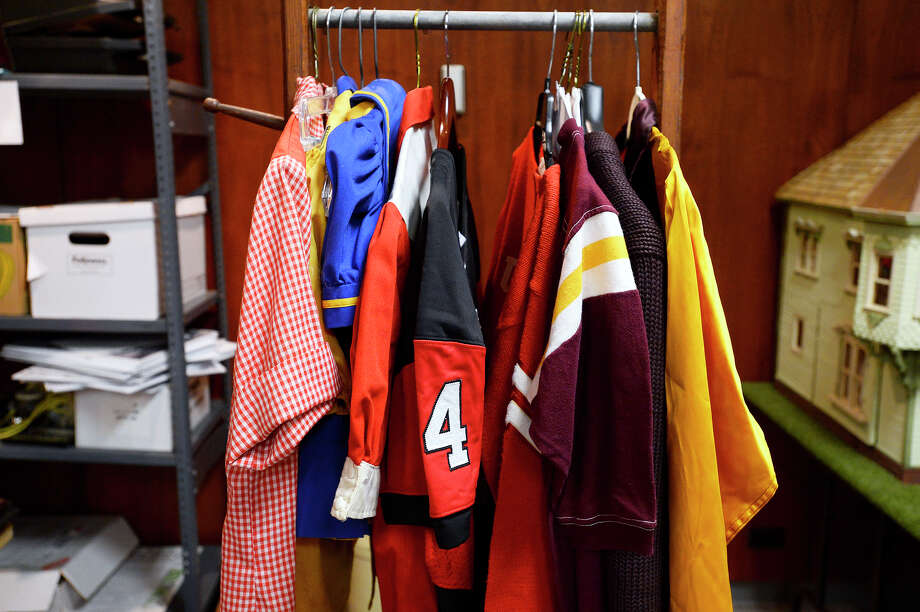 Clothing items at the Museum of the Gulf Coast. The museum is putting together an exhibit on Southeast Texas sports history.  Photo taken Wednesday 7/11/18 Ryan Pelham/The Enterprise Photo: Ryan Pelham/The Enterprise / ?2018 The Beaumont Enterprise