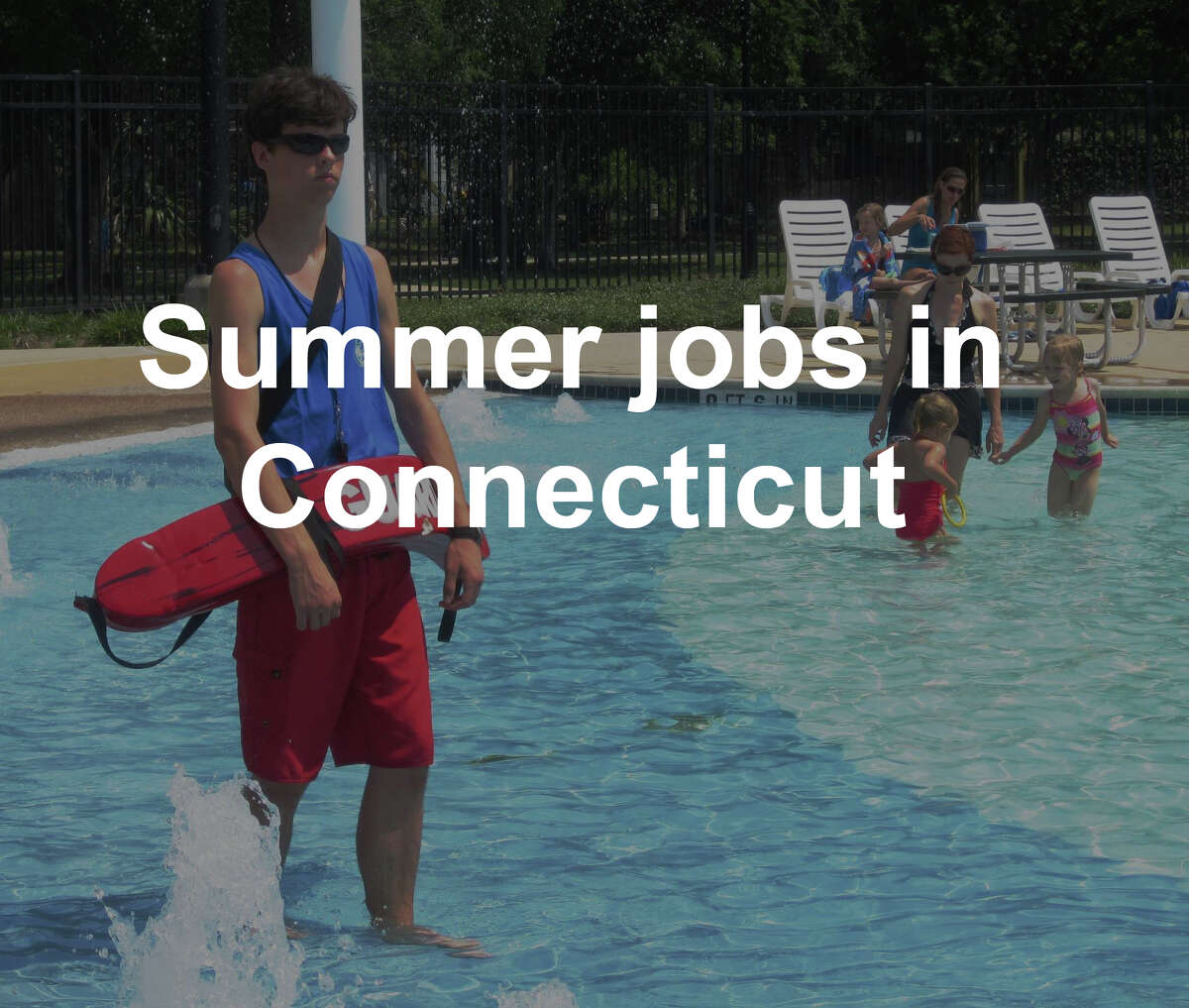 Lifeguarding, long a staple of summer jobs for young people, is less volatile than retail, which has seen declines as people move to online shopping.