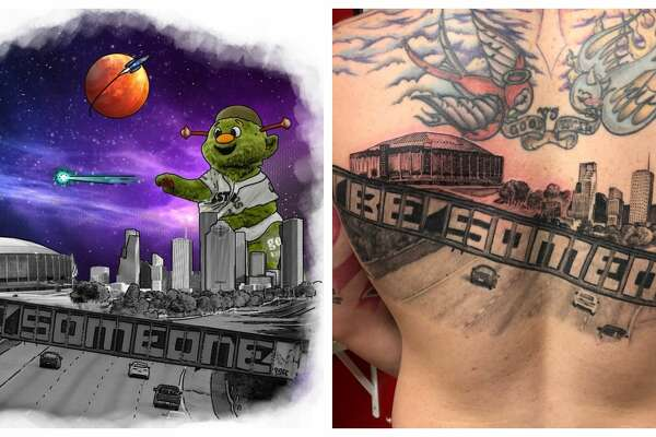 Houston Man Gets The Most Houston Tattoo Ever Sfchroniclecom