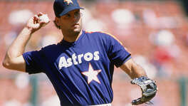 The late Ken Caminiti had two different tours of duty with the Astros,  from 1987-94 and 1999-00. He died at age 41 on Oct. 10, 2004, the day  before the Astros clinched their first playoff series victory.