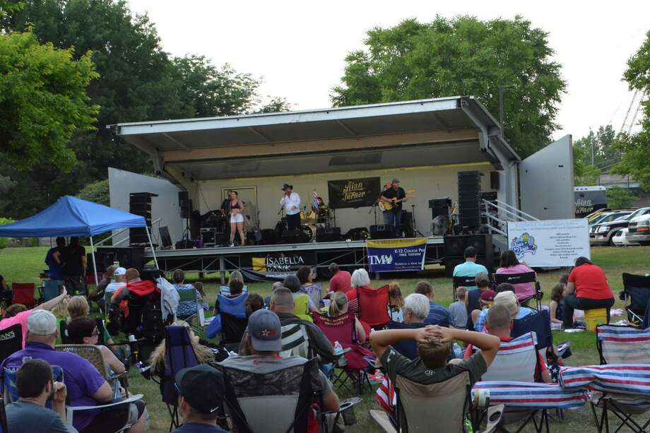 A scene from Tunes at the Tridge on Thursday, July 12, 2018 in Midland. (Photo provided/P3 Images) Photo: Photo Provided/P3 Images