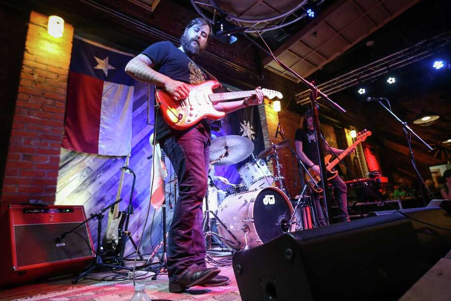 Zac Wilkerson performs during the Fire Up the Bands concert, benefiting the Conroe Professional Firefighters Association, on Saturday, July 14, 2018, at Pacific Yard House in Conroe. Photo: Michael Minasi, Staff Photographer / Houston Chronicle / © 2018 Houston Chronicle