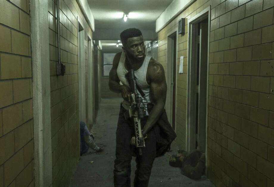 """This image released by Universal Pictures shows Y'lan Noel in a scene from """"The First Purge."""" Photo: Annette Brown / Associated Press / © Universal Pictures"""