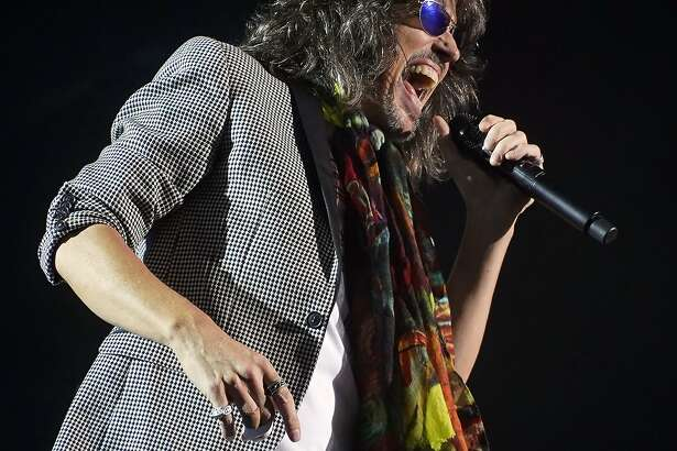 The British-American rock band Foreigner with lead vocalist Kelly Hansen performs at the Blue Hills Bank Pavilion as part of The Juke Box Heroes Tour, Wednesday, June 20, 2018, in Boston. (Photo by Robert E. Klein/Invision/AP)