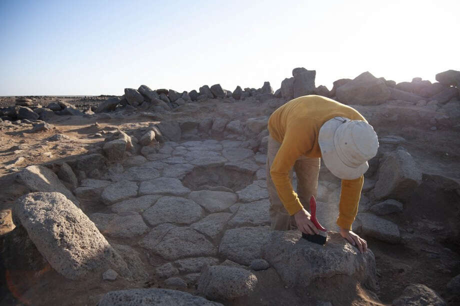 Excavations of the oldest discovered bread were made at a site in Jordan. Photo: Alexis Pantos. / Alexis Pantos