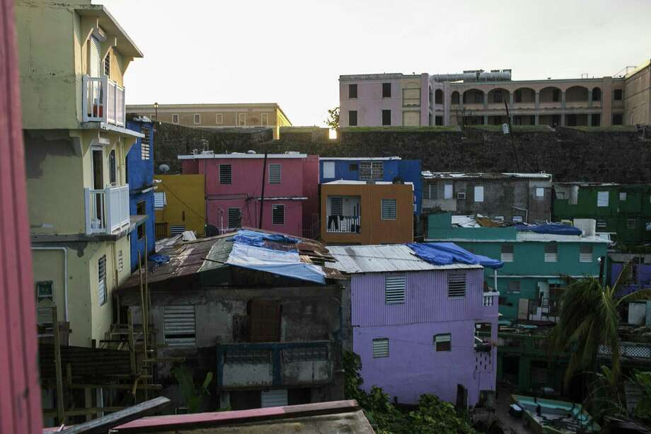 A low-income area of San Juan, Puerto Rico, three weeks after Hurricane Maria hit, Oct. 11, 2017. Island residents who have fallen behind on their payments are facing creditors ranging from Wall Street to the federal government. Photo: DENNIS M. RIVERA PICHARDO /NYT / NYTNS