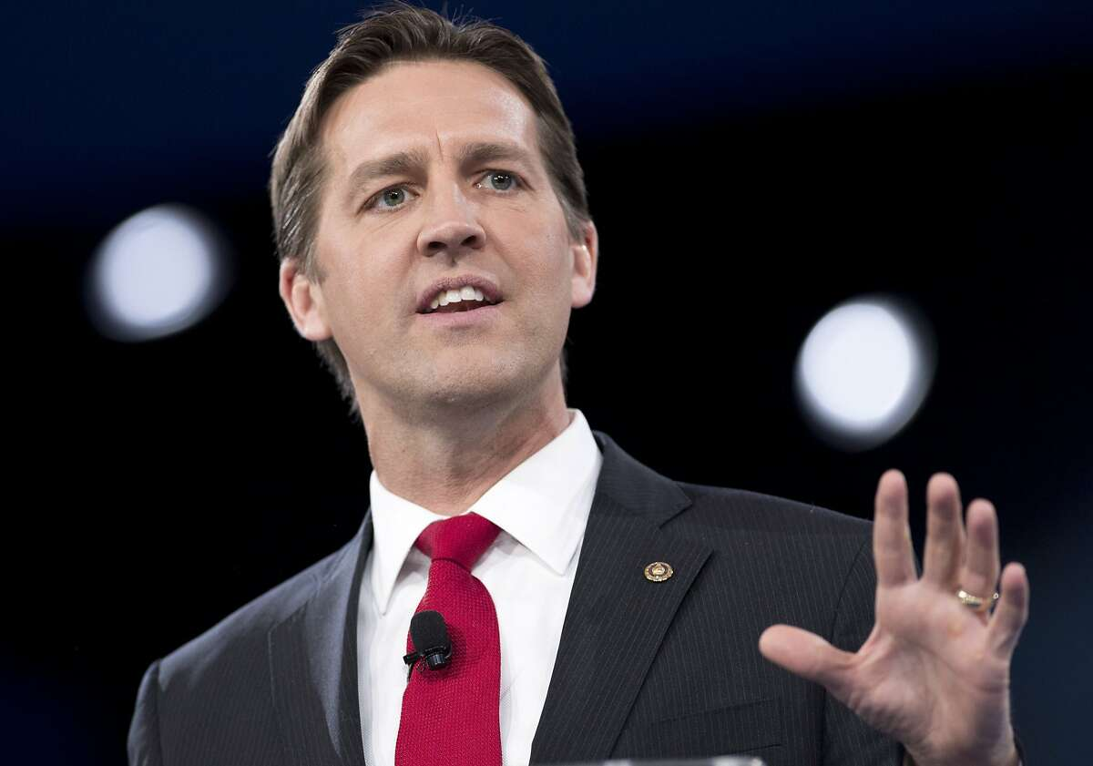 US Senator Ben Sasse, Republican of Nebraska, speaks during the annual Conservative Political Action Conference (CPAC) 2016 at National Harbor in Oxon Hill, Maryland, outside Washington, March 3, 2016. Republican activists, organizers and voters gather for the Conservative Political Action Conference at a critical moment for the Republican Party as Donald Trump marches towards the presidential nomination and GOP stalwarts consider whether -- or how -- to stop him. / AFP / SAUL LOEBSAUL LOEB/AFP/Getty Images