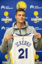 Warriors  Jonas Jerebko looks to put Swedish basketball on map - SFGate 8147e7bce