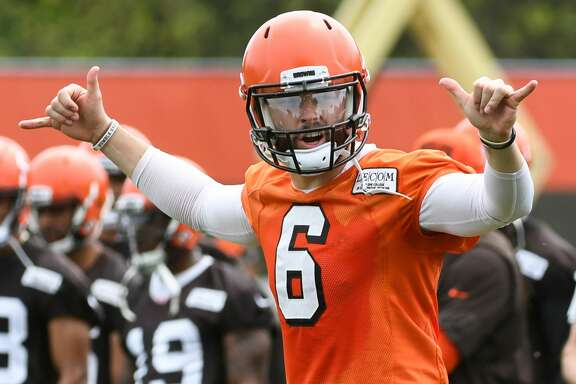 Heisman Trophy winner Baker Mayfield, the first overall pick in the draft, is part of the marked culture change in Cleveland.