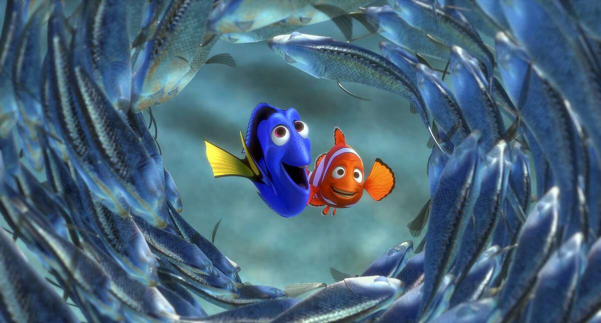 In an early scene of the film, Bonnie is playing in her room while wearing a clownfish-colored innertube, a likely nod to Marlin and Nemo, clownfish in