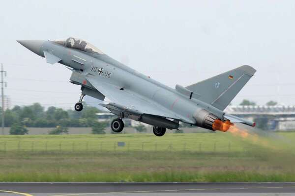 Should Germany spend more on its defense budget? Reportedly about 60 percent of its Eurofighter jets are unusable.