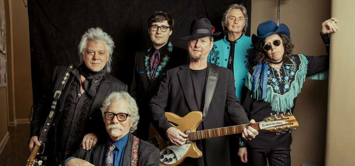 Marty Stuart and His Fabulous Superlatives will back Chris Hillman and Roger McGuinn of the Byrds.