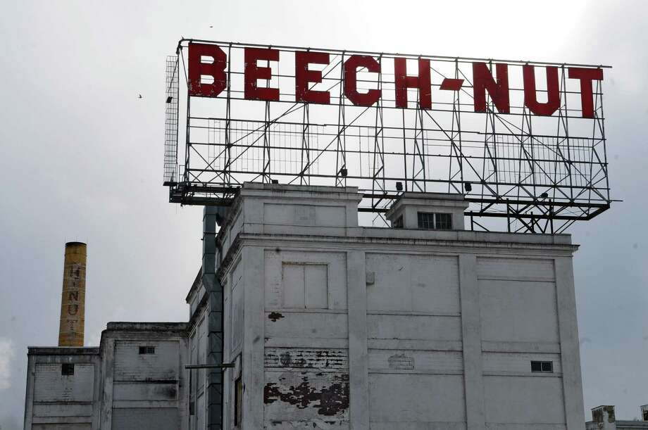 View of  the Beech-Nut building, on Wednesday March 2, 2011 in Canajoharie, NY, weeks before it closed, with its workforce transferred to a new plant in Montgomery County.  ( Philip Kamrass / Times Union ) Photo: Philip Kamrass / 00012261A