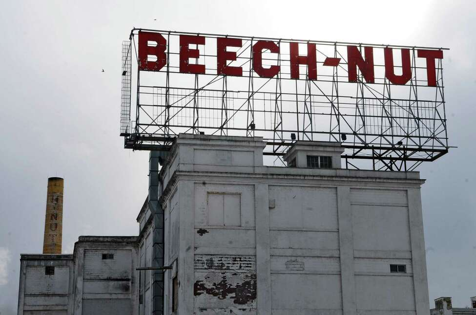 View of the Beech-Nut building, on Wednesday Mar. 2, 2011 in Canajoharie, NY. The plant is scheduled to close for good at the end of March, with its workforce transferred to a new state of the art plant in Montgomery County. ( Philip Kamrass / Times Union )