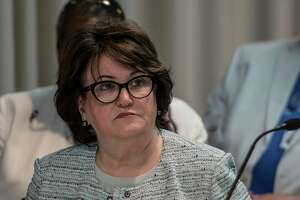 New York State Department of Education MaryEllen Elia in attendance at the Board of Regents meeting at the Education Building Monday, July 16, 2018 in Albany, N.Y. (Skip Dickstein/Times Union)