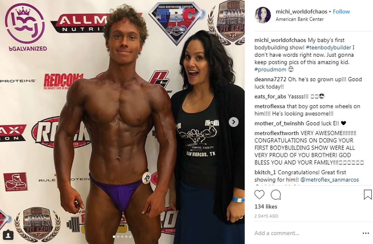 Texans flexed, showed off their glistening muscles and competed on July 14, 2018, at the Battle on the Bay Fit Expo in Corpus Christi.