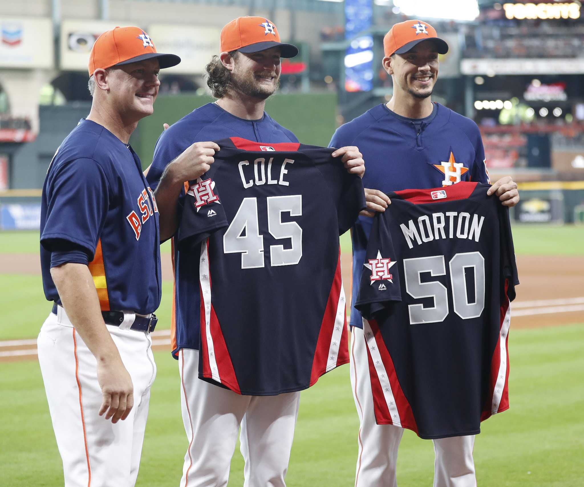 presence on al team is icing on the cake for morton houstonchronicle com https www houstonchronicle com sports astros article presence on al team is icing on the cake for 13080403 php