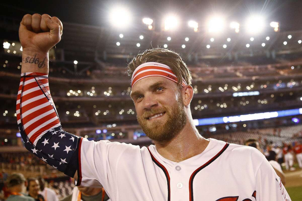 All-Star buzz: Bryce Harper swings for the fences ... and bay