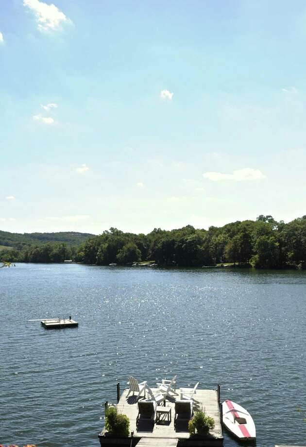 A view of Lake Waramaug in Warren. Photo: H John Voorhees III / Hearst Connecticut Media / The News-Times