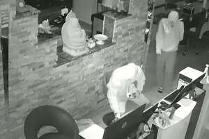 New Braunfels police are looking for a team of three suspected burglars who broke into multiple businesses in May and June.