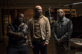 August Greene is Robert Glasper, Common and Karriem Riggins
