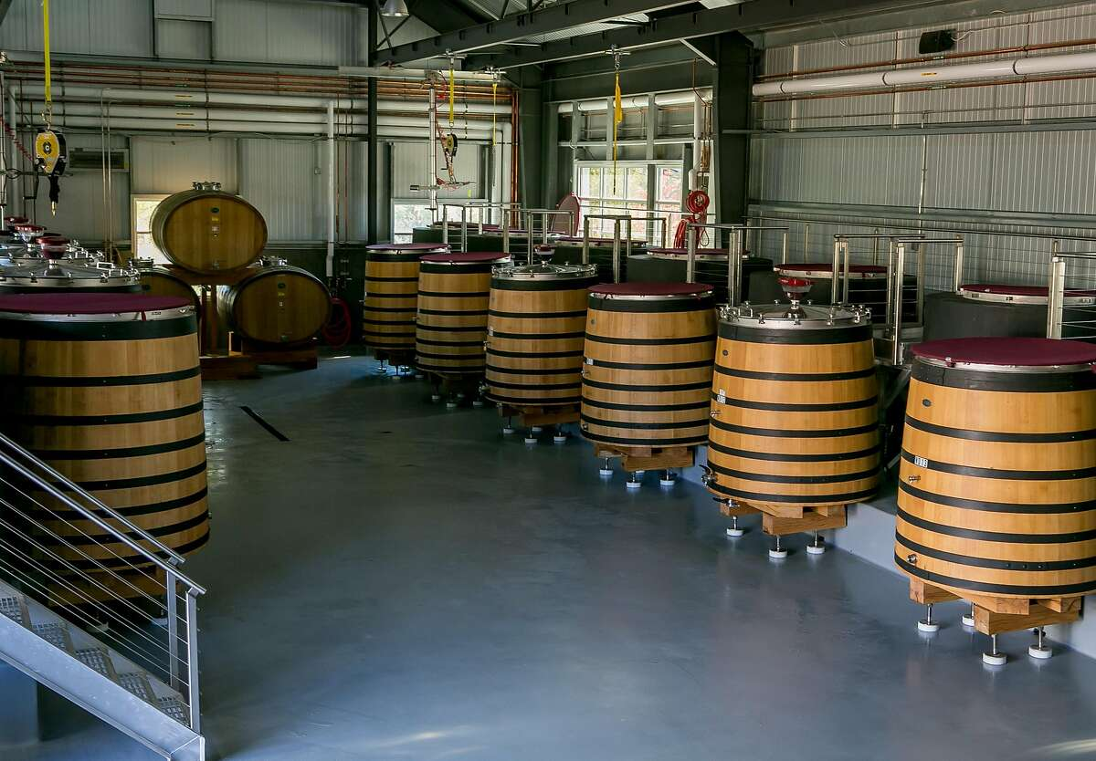 The interior of the Kosta Browne Winery in Sebastopol, Calif., is seen on October 22nd, 2017.