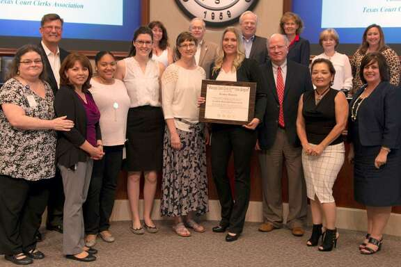 Sugar Land Municipal Court Administrator KendraBeverly was recently recognized during a City Council meeting as one of only 86 people in Texas to earn Certified Municipal Court Clerk Certification.