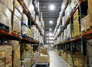 Regional Food Bank warehouse Tuesday July 3, 2018 in Colonie, NY.  (John Carl D'Annibale/Times Union)