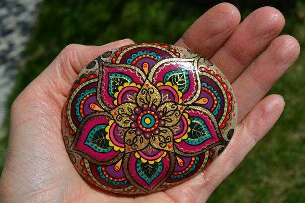 The Kingwood Rock Hunt Facebook group encourages people to paint, hide and find rocks. Then people post photosof the found rocks to the Facebook group.