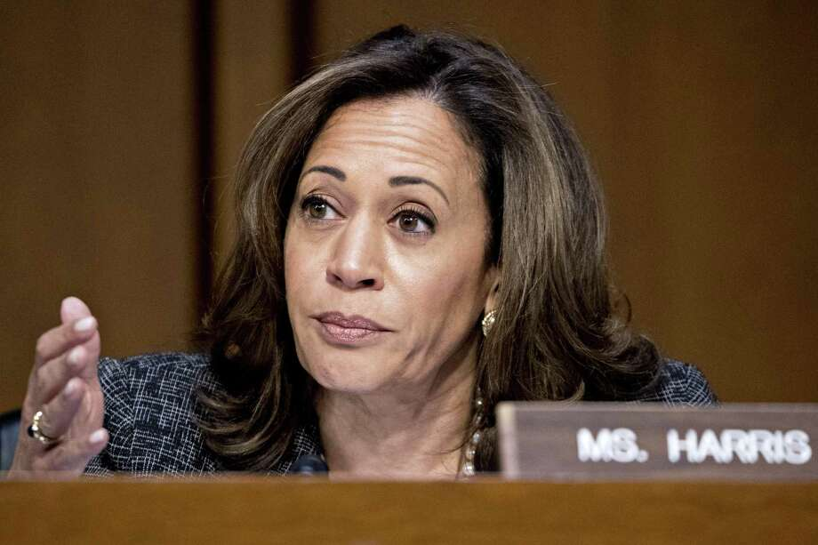 "Sen. Kamala Harris' ""The Truths We Hold"" will be published in January by Penguin Press. Photo: Andrew Harrer / Bloomberg / Bloomberg"