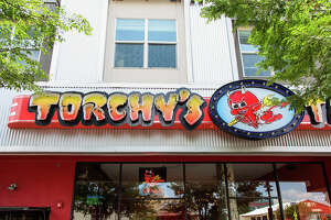 Torchy's Tacos near Southern Methodist University in Dallas.