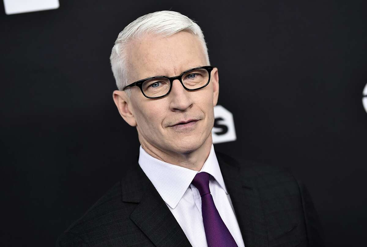 FILE - In this May 16, 2018, file photo, CNN news anchor Anderson Cooper attends the Turner Networks 2018 Upfront at One Penn Plaza in New York. Arizona State University is awarding its 2018 Walter Cronkite Award for Excellence in Journalism to CNN anchor Anderson Cooper. He will receive the award on Oct. 17, 2018, in Phoenix from the university's Walter Cronkite School of Journalism and Mass Communication. (Photo by Evan Agostini/Invision/AP, File)