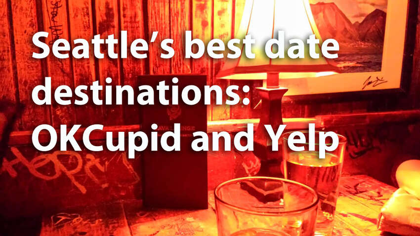 OKCupid and Yelp teamed up to poll internet daters on their favorite date spots in Seattle. Check out what Seattleites have to say on the matter.