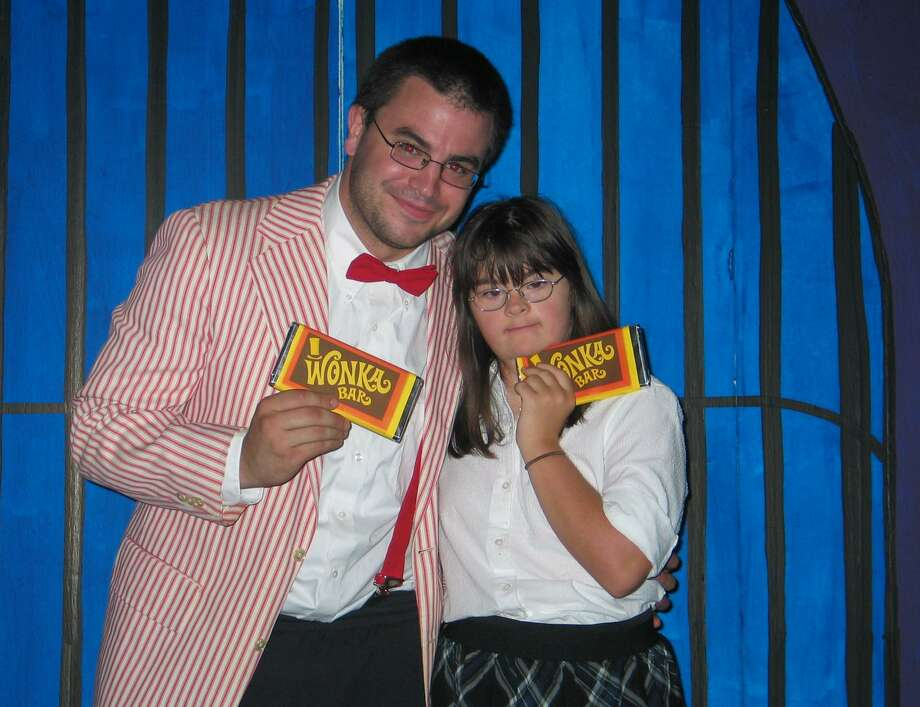 Jimmy Librandi and Tara Wighton of The Off Beat Players, in their 2010 production of Willy Wonka. The Off Beat Players will again return to Roald Dahl for their source material when they present their new production of James and the Giant Peach. The company, which is for teens and young adults with and without disabilities, will put on its show from Aug. 2 to Aug. 4. Photo: Contributed Photo / Contributed / Greenwich Time Contributed