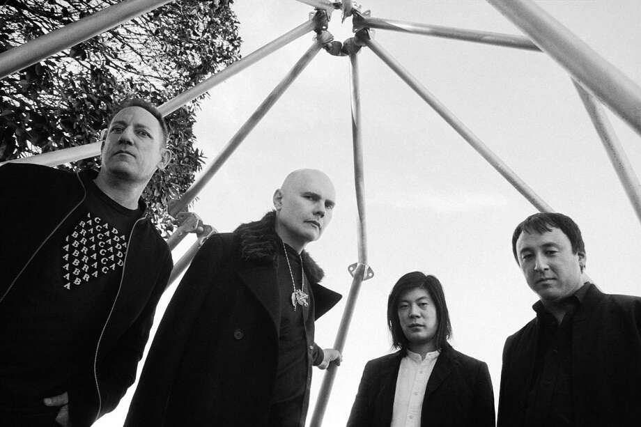 Billy Corgan, second from left, and Smashing Pumpkins will be at Mohegan Sun. Photo: Olivia Bee / Contributed Photo