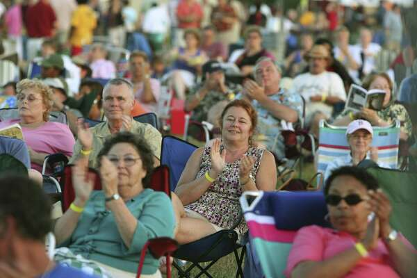 Tickets are sold for the lawn or tent at the jazz fest.