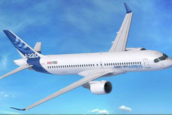 David Neeleman's new U.S. airline will use Airbus A220-300s. (Image: Airbus)