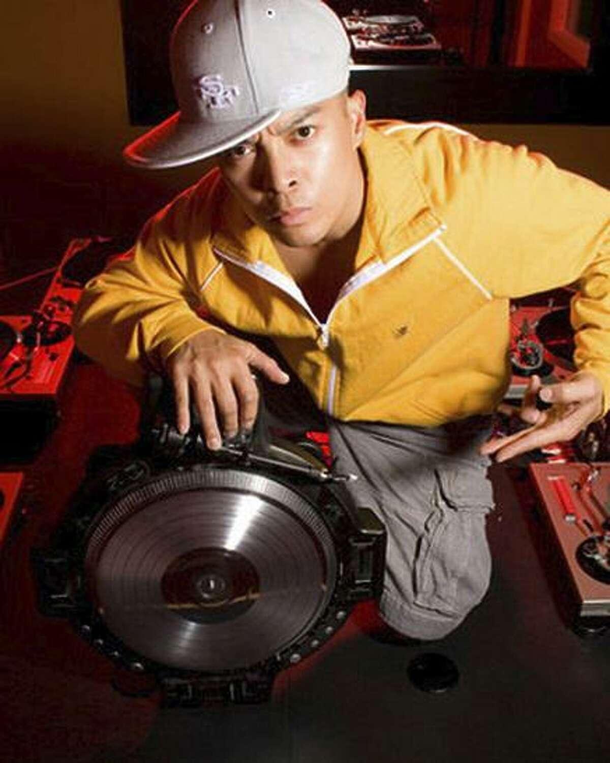 DJ QBert, a.k.a. Richard Quitevis, got his first turntable as a child.