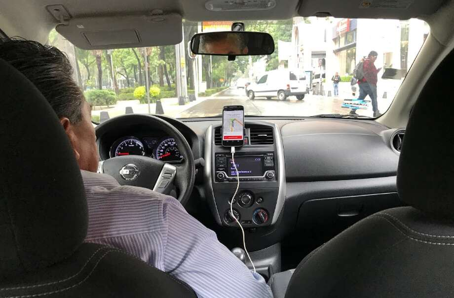 New Uber tools help riders and drivers find each other. (Photo: Chris McGinnis) Photo: Chris McGinnis