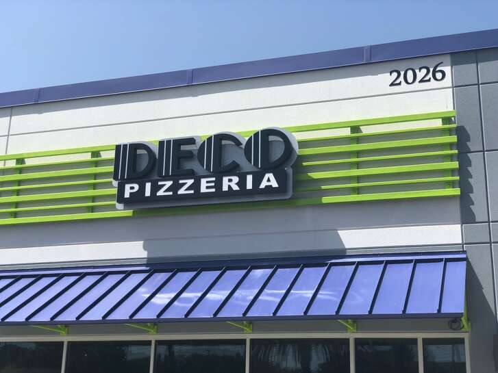 Exterior of the new Deco Pizzeria in Medical Center, set to open on Aug. 2.