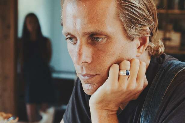 Aaron Bruno of the band AWOLNATION.