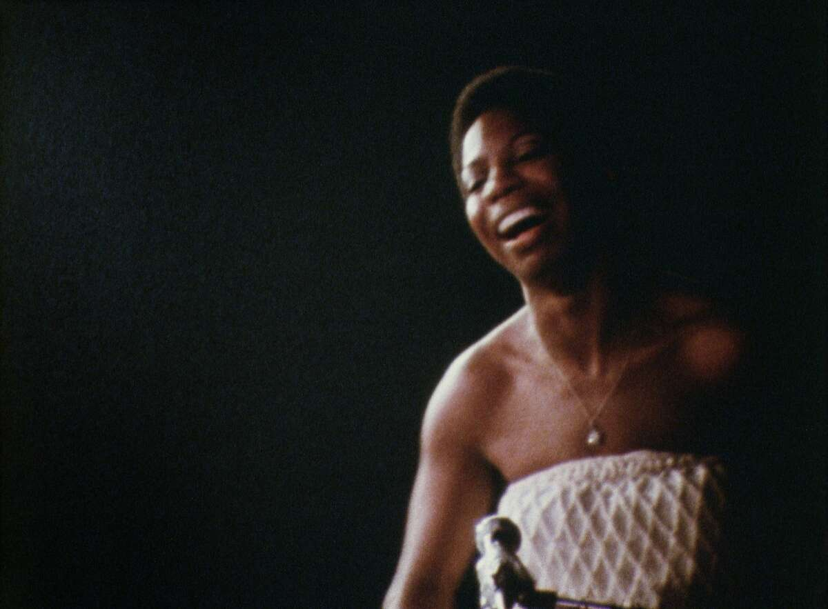 """A scene from Liz Garbus's """"What Happened, Miss Simone?,"""" playing at Doc Stories, November 5-8 at the Vogue Theatre. Credit: Courtesy of San Francisco Film Society"""
