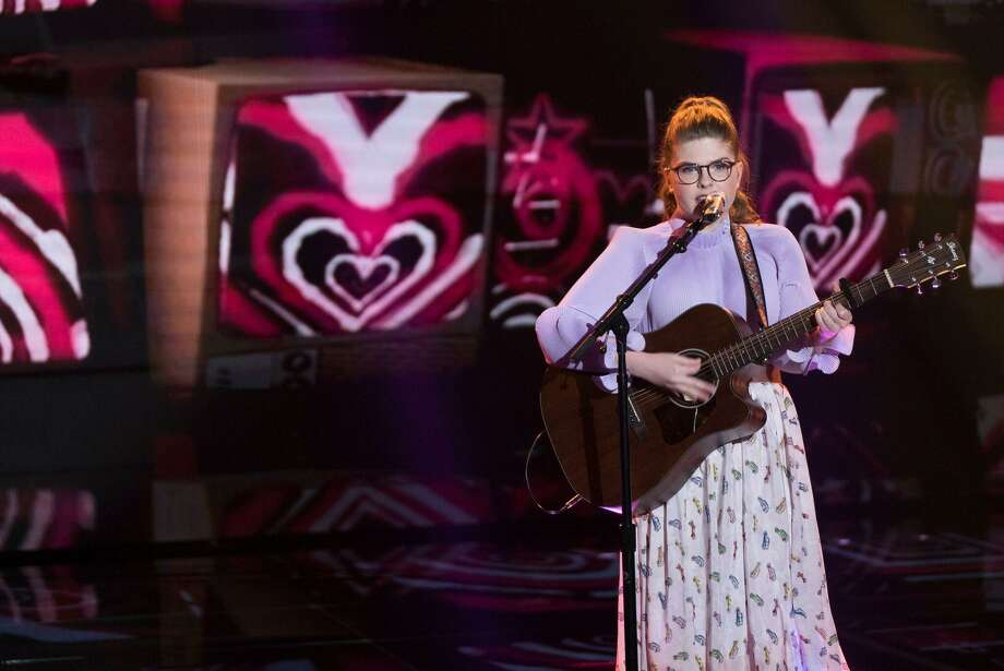 """Catie Turner, 18, was a top seven performer on this year's season of American Idol. She earned admiration from the show's judges by covering major pop songs like """"Oops!...I did it again"""" by Britney Spears and """"Havana"""" by Camilla Cabello. Photo: / Courtesy Donovan Public Relations"""