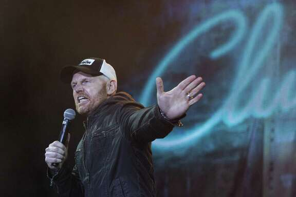 Bill Burr performing on the Colossal Stage during Colossal Clusterfest in San Francisco.