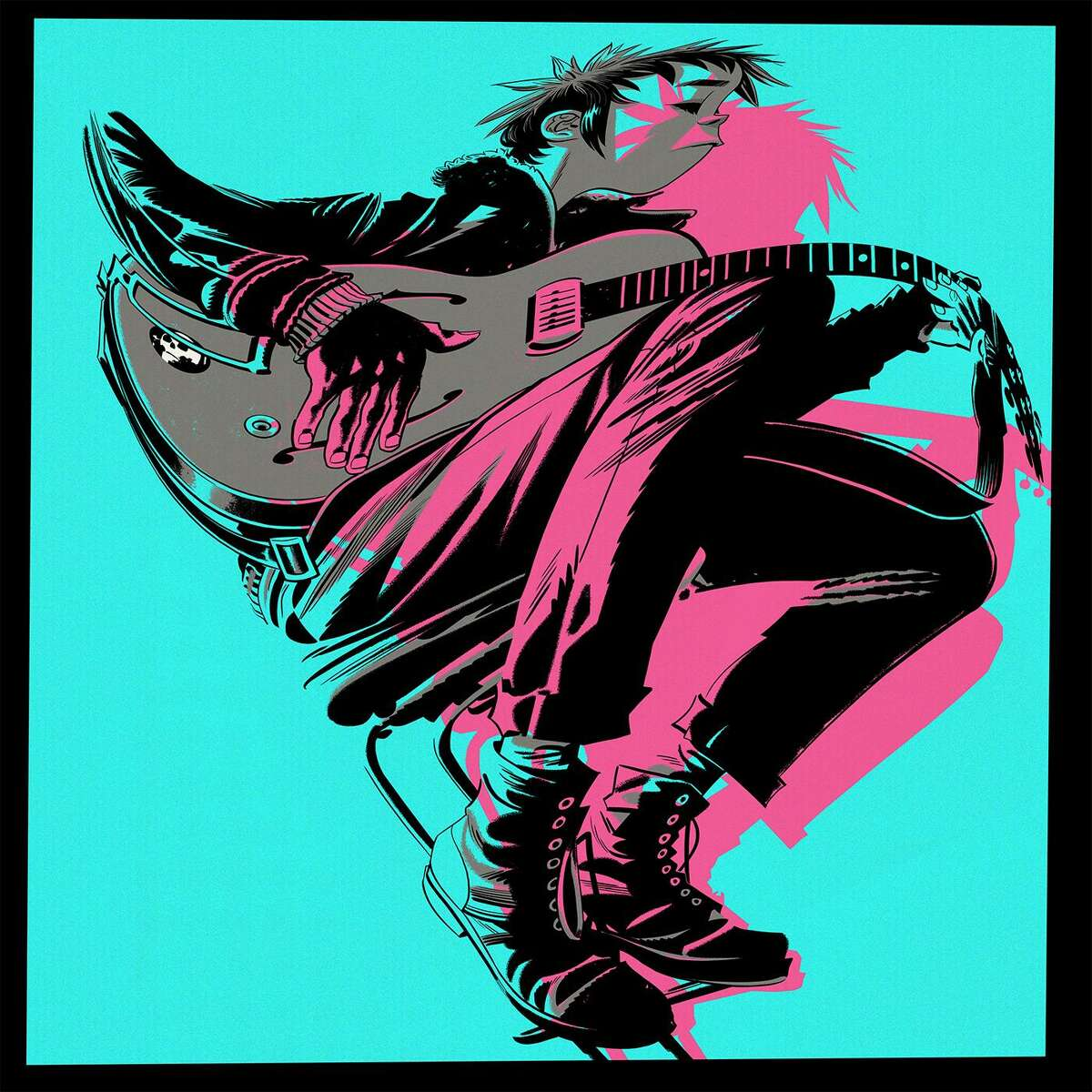 """This cover image released by Warner Bros. shows """"The Now Now,"""" a release by Gorillaz. (Warner Bros. via AP)"""