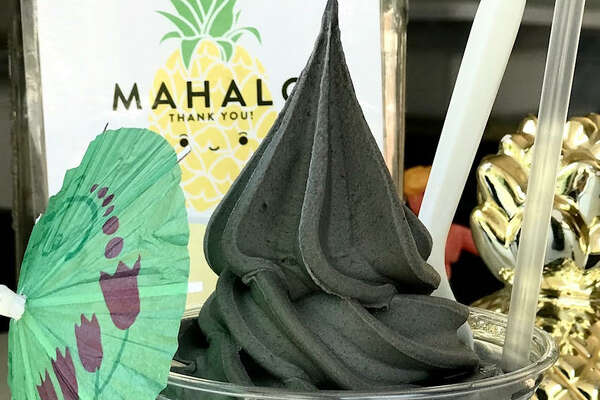 """Some of the charcoal offerings available at """"50 Shades of Charcoal"""" on Sunday, June 22, from 11 a.m. to 5 p.m. at SoMa StrEat Food Park."""
