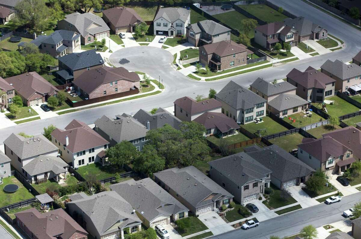 """Title insurance company Amrock Inc. said it received information that a Bexar County jury trial that resulted in a $706 million verdict against the company was """"fraudulent."""" It wants the verdict set aside. Real estate data analytics firm HouseCanary Inc. prevailed in the case. Pictured is a subdivision in Kendall County."""